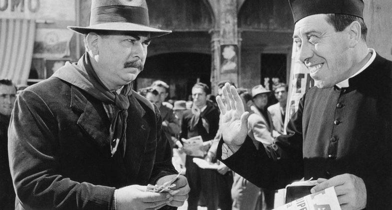 Gino Cervi e Fernandel interpreti della saga cinematografica Don Camillo e Peppone