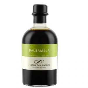 Balsamela|Organic cooked apple juice and organic apple vinegar.